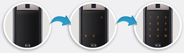 Khóa điện tử Samsung SHP-DP609 nhiều cách xác thực