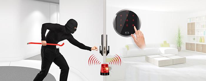 Khóa điện tử Samsung SHP-DP609 chống trộm