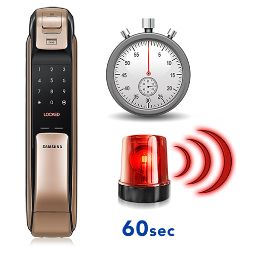Khóa điện tử Samsung SHP-DP728 báo động
