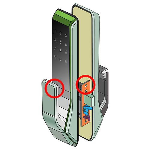 Khóa điện tử Samsung SHS-P717 bảo mật cao