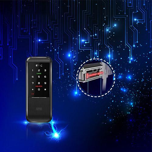 Khóa điện tử Epic Triplex 2way chống sốc điện