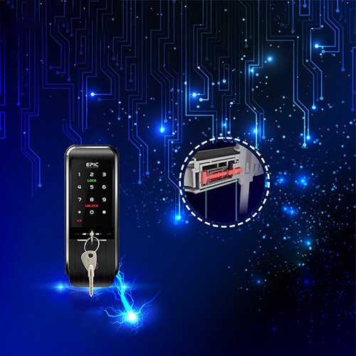 Khóa điện tử Epic Triplex 3 way chống sốc điện