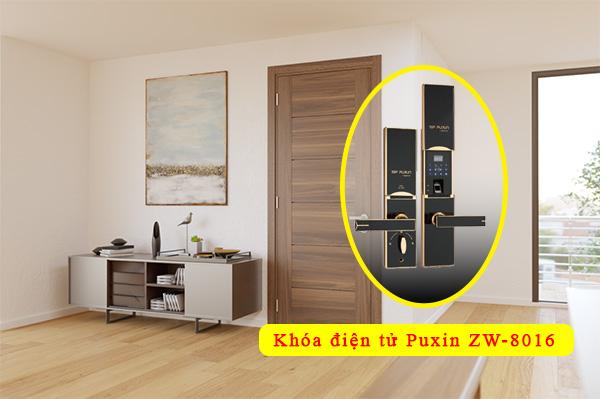 khóa cửa Puxin ZW-8016