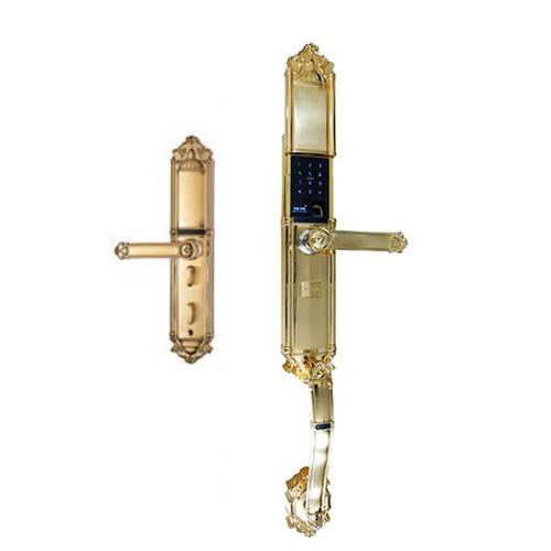 Khóa điện tử Puxin ZW-8201D vàng