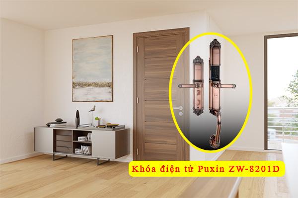 khóa cửa thông minh Puxin ZW-8201D