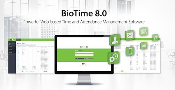 phần mềm Biotime8