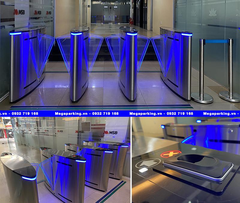 Dự án lắp đặt hệ thống kiểm soát ra vào bằng cổng Flap Barrier cho tòa nhà HDTC