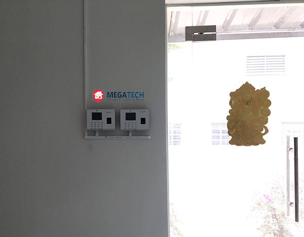 Lắp máy chấm công vân tay ZKTeco G2 Công ty ASTI Electronics Corporation ở  Bình Dương