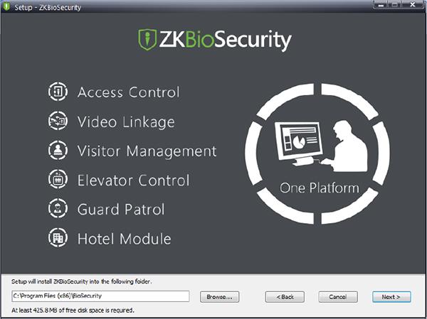Phần mềm ZKBiosecurity