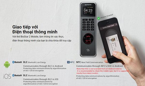 Suprema Biolite N2 tích hợp điện thoại