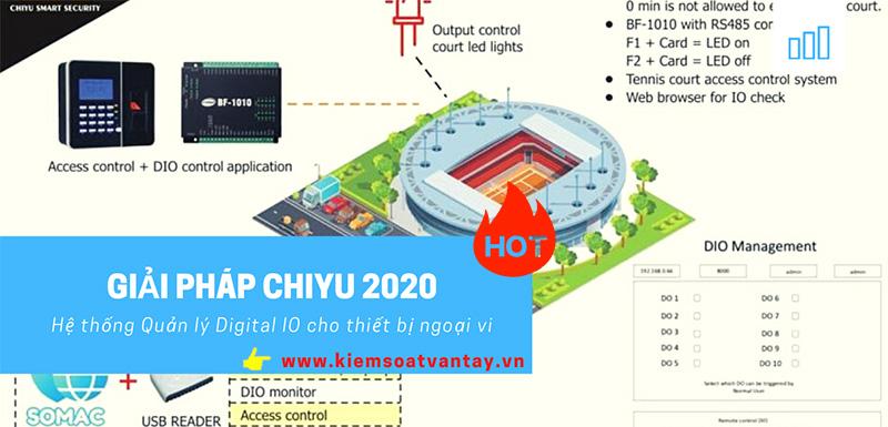 Giải pháp Chiyu 2020 : Hệ thống Quản lý Digital IO cho thiết bị ngoại vi