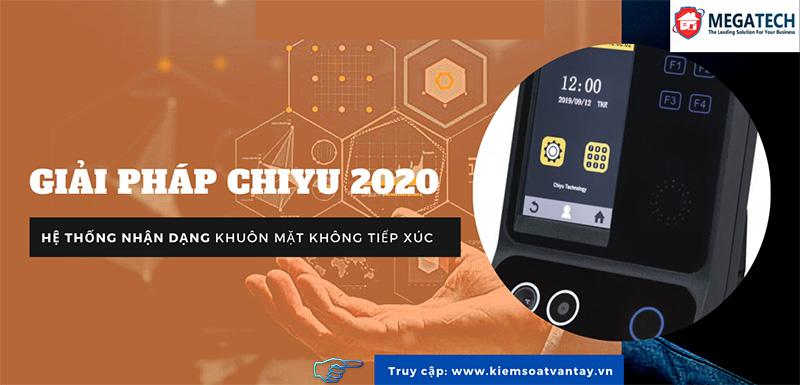 Giải pháp CHIYU 2020: Hệ thống nhận dạng khuôn mặt không tiếp xúc