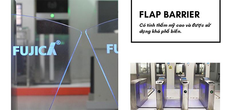 Flap Barrier có tính thẩm mỹ cao