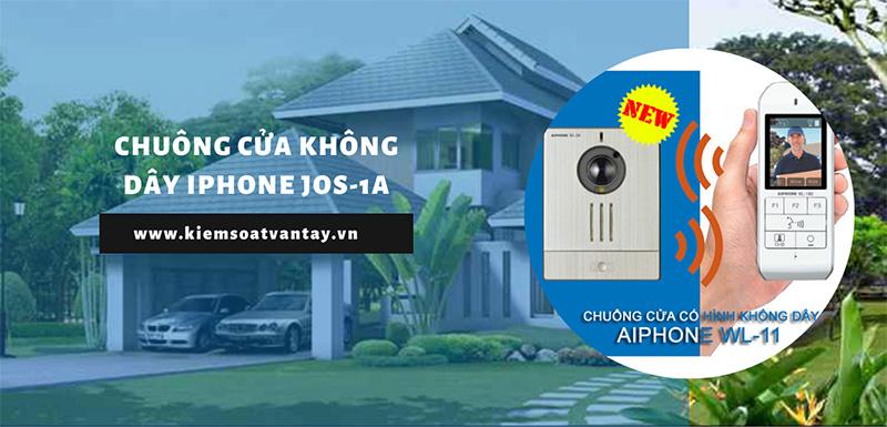 Chuông cửa không dây Aiphone JOS-1A chính hãng