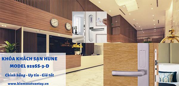 Khóa khách sạn Hune model 929SS-3-D chính hãng