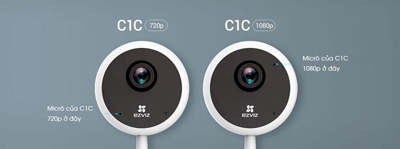 Camera Wifi trong nhà chuẩn HD