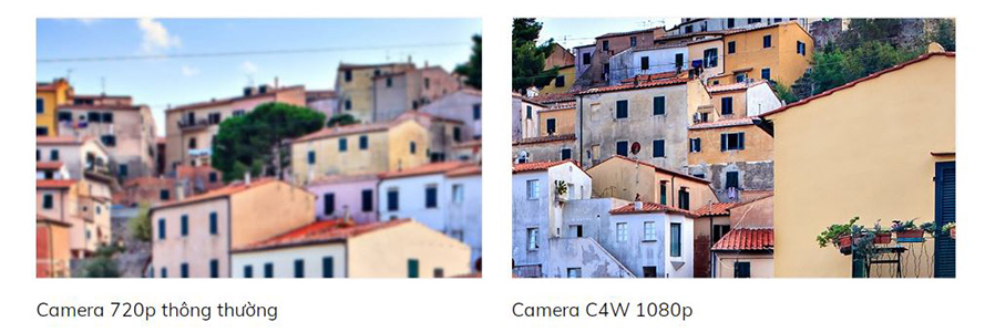 Camera Ezviz Dome C4W giá rẻ