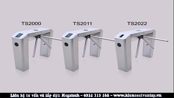 Đặc điểm nổi bật của ZKTeco Biometric Tripod Turnstile