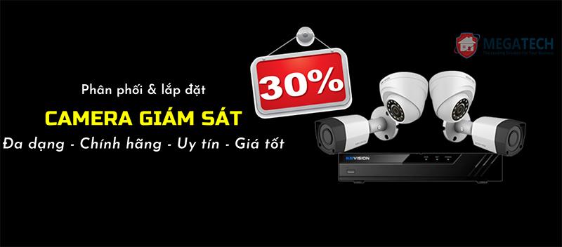 Chi nhánh Megatech tại Đồng Nai giảm giá lắp đặt Camera quan sát tới 30%