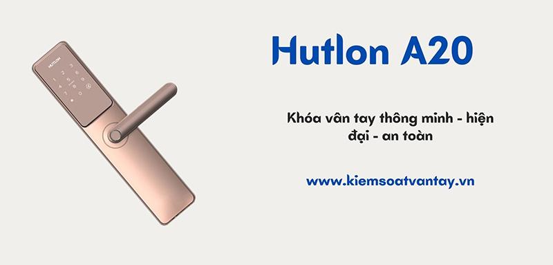Khóa điện tử Hutlon A20 hiện đại