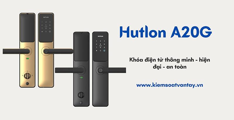 Khóa cửa thông minh Hutlon A20G hiện đại