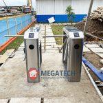 Cung cấp và setup hệ thống cổng xoay Tripod tại nhà xưởng Want Want Tiền Giang