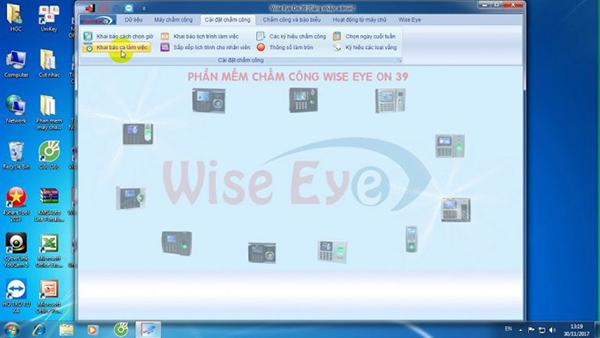 Phần mềm wise eye – phần mềm chấm công đầy đủ và hiệu quả cho văn phòng