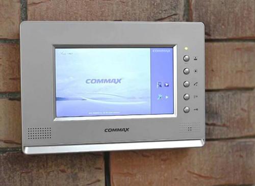 Chuông cửa có hình Commax cũng là sự lựa chọn lý tưởng