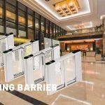 Bộ cổng tự động Swing barrier thích hợp dùng cho văn phòng