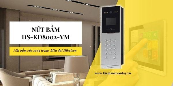 nút bấm DS-KD8002-VM chính hãng Hikvision