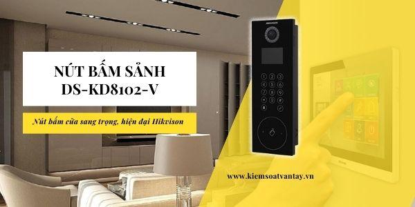 Nút bấm sảnh thông minh DS-KD8102-V chính hãng Hikvision