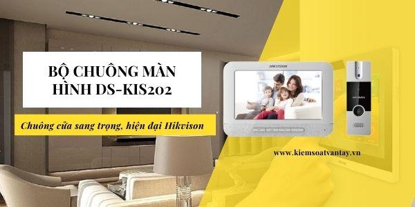 Bộ chuông màn hình Hikvision DS-KIS202