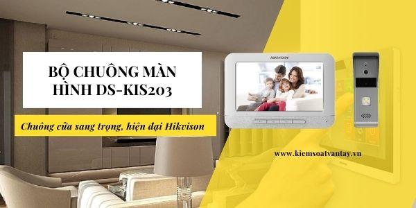 Bộ chuông màn hình DS-KIS203 chính hãng Hikvision