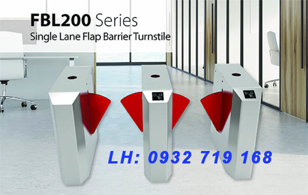 Cổng an ninh Flap FBL200 series chính hãng ZKTeco
