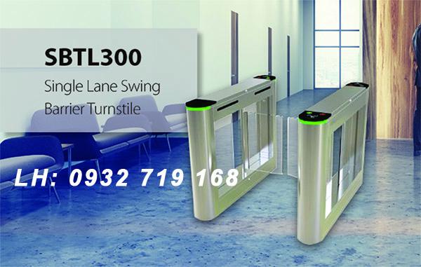 Cổng Swing Barrier Turnstile SBTL300 hiện đại