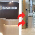 Thi công hệ thống cổng Flap kiểm soát ra vào tại tòa nhà Danh Khôi Holdings