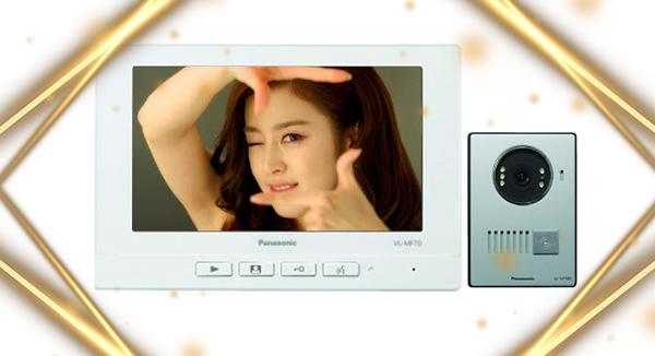 Chuông hình Panasonic- giải pháp hoàn hảo cho gia đình bạn