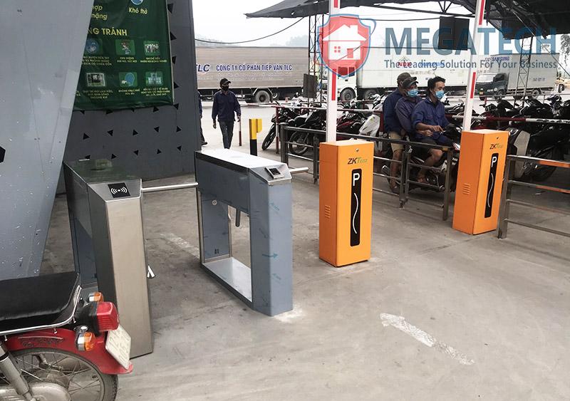 Thi công hệ thống kiểm soát bằng cổng tripod và barrier tại Cửa khẩu Hữu Nghị