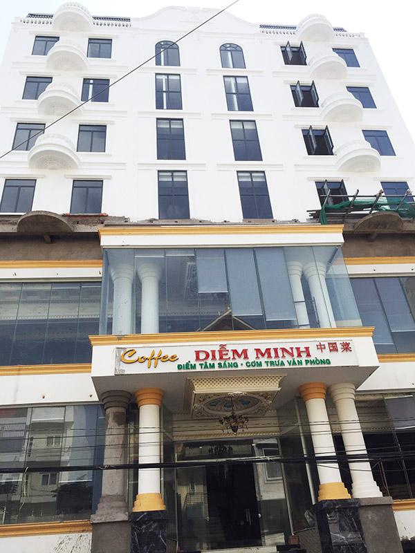 Khách sạn Diễm Minh đang trong quá trình hoàn thiện