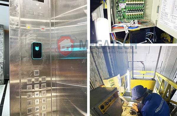 Cung cấp hệ thống chống sao chép thẻ từ thang máy chung cư
