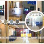 Lắp máy chấm công Face Station cao cấp tại Công ty PVI Hà Nội
