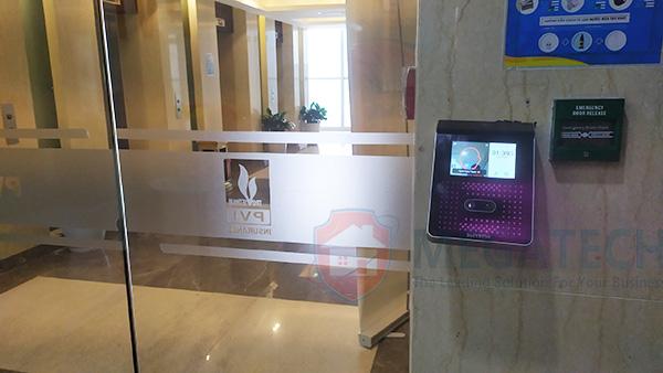 Lắp máy Face Station 2 tại văn phòng PVI